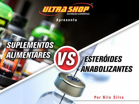 Suplementos alimentares vs esteroides anabolizantes