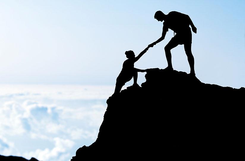 O mentor te auxilia a alcançar seus objetivos